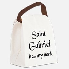 saint gabriel Canvas Lunch Bag