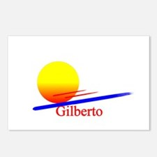 Gilberto Postcards (Package of 8)