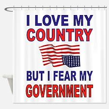 SAVE AMERICA Shower Curtain