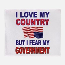 SAVE AMERICA Throw Blanket