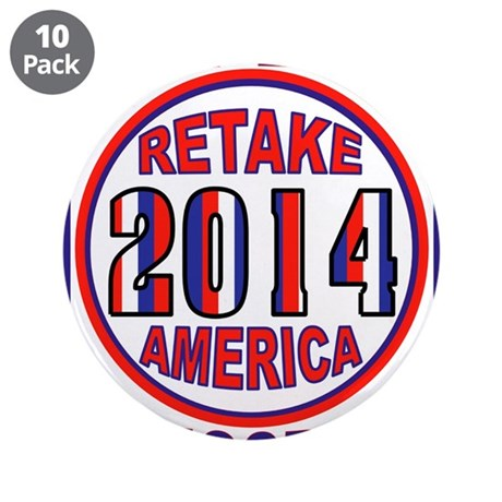 "SAVE AMERICA 3.5"" Button (10 pack)"