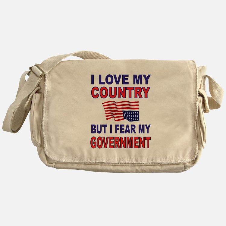 SAVE AMERICA Messenger Bag