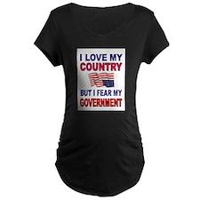 SAVE AMERICA Maternity T-Shirt