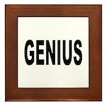Genius Framed Tile