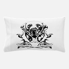 Duck Hunter Labrador 2 Pillow Case