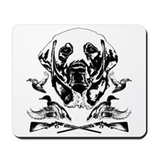 Duck Hunter Labrador 2 Mousepad