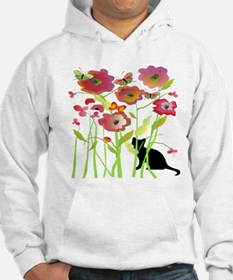Cat and Butterflies Hoodie
