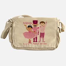 Personalize Pink Nutcracker Messenger Bag