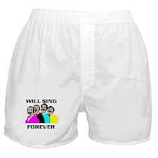 SINGING QUARTET Boxer Shorts