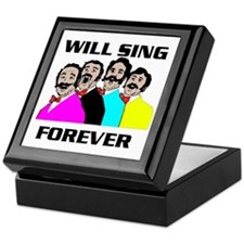 SINGING QUARTET Keepsake Box