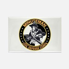 Minuteman Civil Defense Corps Rectangle Magnet