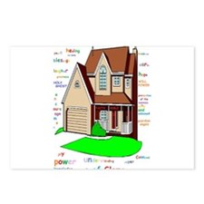 Lord bless our home Postcards (Package of 8)