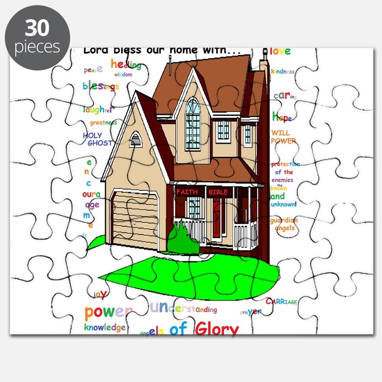 Lord bless our home Puzzle