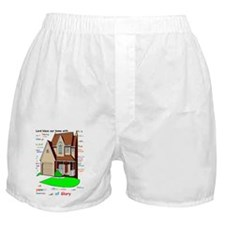 Lord bless our home Boxer Shorts