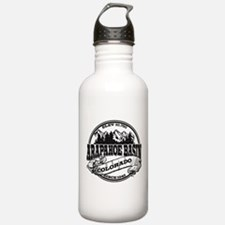 A-Basin Old Circle Black Water Bottle