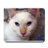 Red point siamese Classic Mousepad