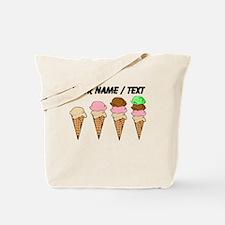 Custom Ice Cream Cones Tote Bag