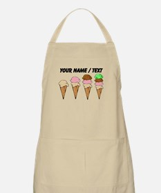 Custom Ice Cream Cones Apron