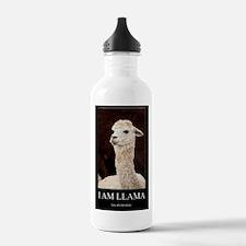 I Am Llama Water Bottle