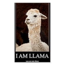 I Am Llama Decal