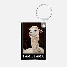 I Am Llama Keychains