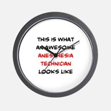 awesome anesthesia technician Wall Clock