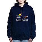 Puppy Power Women's Hooded Sweatshirt