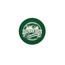A-Basin Old Circle Green Mini Button