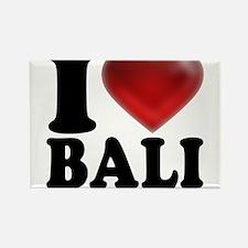 I Heart Bali Light Magnets