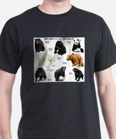 Bears of the World T-Shirt