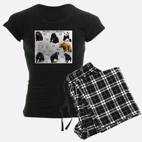 Bears of the World Pajamas