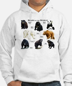 Bears of the World Hoodie Sweatshirt
