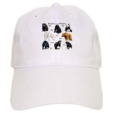 Bears of the World Baseball Baseball Cap
