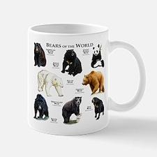 Bears of the World Small Small Mug