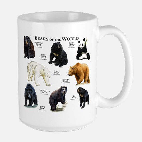 Bears of the World Large Mug