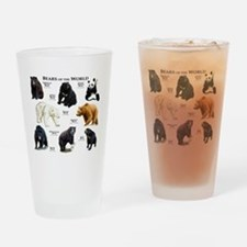 Bears of the World Drinking Glass