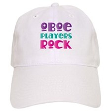 Oboe Players Rock Baseball Cap