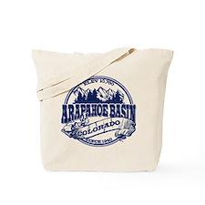 A-Basin Old Circle Blue Tote Bag