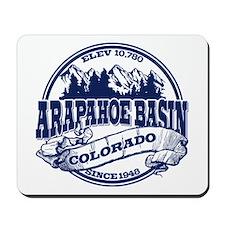 A-Basin Old Circle Blue Mousepad