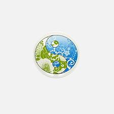 Goddess Earth Day mini button