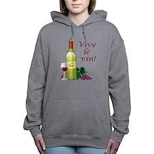 Vive le Vin Hooded Sweatshirt