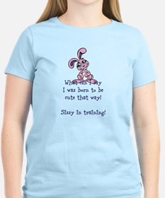 Cute sissy in training T-Shirt