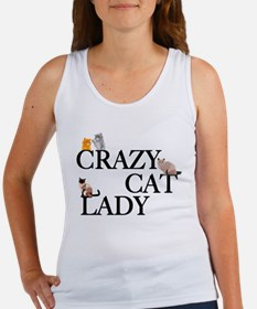 Crazy Cat Lady Women's Tank Top