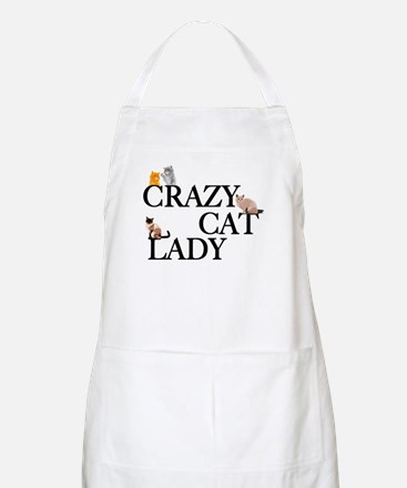 Crazy Cat Lady Apron