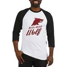 Big Bad Wolf Baseball Jersey