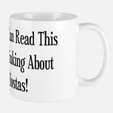Thinking About Hostas Mug