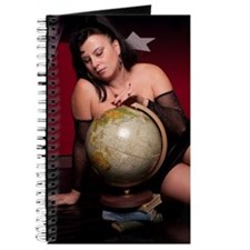 Goddess Bella Donna and globe Journal