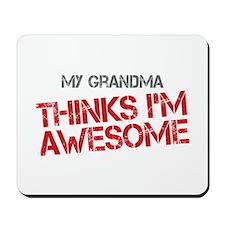 Grandma Awesome Mousepad
