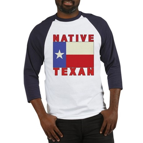 Native Texan Baseball Jersey