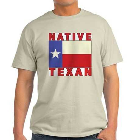 Native Texan Ash Grey T-Shirt